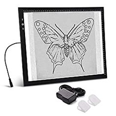 Tracing Art, Laptop Cooling Pad, Diamond Picture, Led Light Box, Usb Gadgets, Black Sharpie, Diamond Art, Painting Tools, Amazon Art