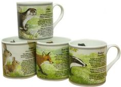 Bisley Raptor Mug Set The finest bone china mugs manufactured in Staffordshire the home of the Pottery Industry Our range of china mugs make ideal China Mugs, Mugs Set, Gifts For Family, Bone China, Pottery, Range, Canning, Tableware, Ceramica