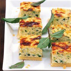 Zucchini-Würfel Rezept | Küchengötter