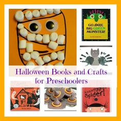 Halloween Books and Crafts for Preschoolers
