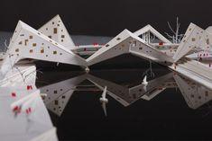 'Prague: Bridge-Building over the Vltava River' Competition Entry / Juráš Lasovský