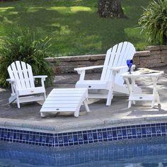 Elegant Poolside Furniture