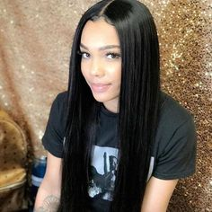 Quality Jingleshair cheap Brazilian Human Hair Wigs Brazilian Remy human hair Lace Front Wigs smooth Straight wholesale for afro women Human Hair Lace Wigs, Remy Human Hair, Remy Hair, Human Hair Extensions, Hair Wigs, Weave Extensions, Box Braids Hairstyles, Straight Hairstyles, Fashion Hairstyles