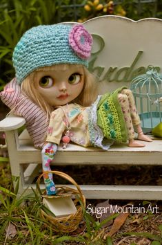 Wonderful composition!! I just adore that pose! ♡  -Cotton Top With Juliet Cap by SugarMountainArt