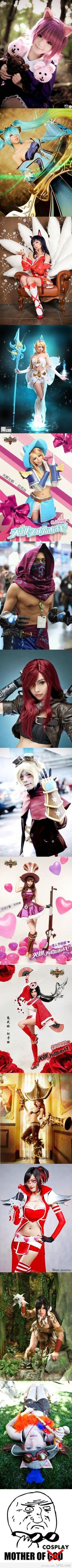 League of Legends - Mother of Cosplay