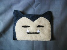 Pokemon Snorlax Felt Coin Purse
