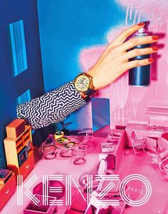 The Essentialist - Fashion Advertising Updated Daily: Kenzo Ad Campaign Fall/Winter 2014/2015
