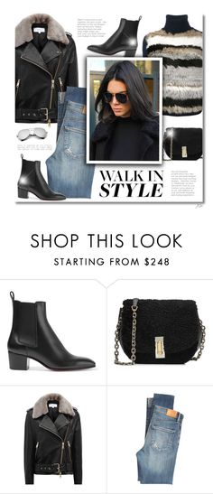 """Walk in Style"" by jgee67 ❤ liked on Polyvore featuring Christian Louboutin, Marc Jacobs, Reiss, Citizens of Humanity, polyvoreblogger, polyvoreeditorial and chelseaboots"
