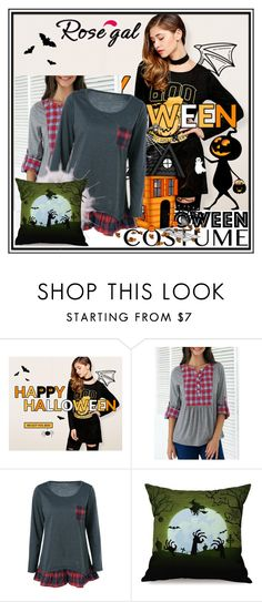 """Rosegal Halloween giveaway- $100 gift cards for you!!"" by lara-fam ❤ liked on Polyvore"