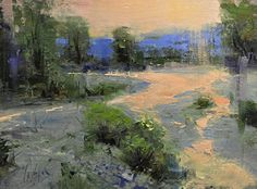 "Gros Ventre River by Mike Wise Oil ~ 9"" x 12"""
