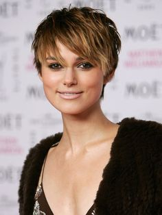 celebrities with short hair - Google Search