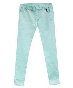 Cropped Skinny Pencil Pants