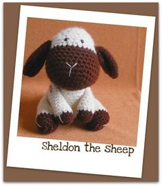 Sheldon the sheep crochet pattern