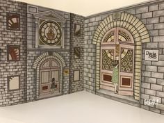 The Time Garden Coloring Book Daria Song   #TheTimeGarden #dariasong  #prismacolor premier Doorsteps