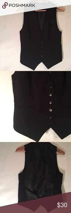 Vest by Norma Kamali - Size Small Classic tailored vest by Norma Kamali is in like new condition. Very nice!!! 💋 Norma Kamali Jackets & Coats Vests