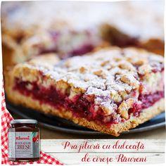 Prăjitură cu dulceaţă de cireşe Lasagna, Sweet Recipes, Biscuit, Banana Bread, French Toast, Breakfast, Ethnic Recipes, Desserts, Food