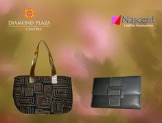 Accessorize yourself with stylish Bags and Pouches from #Nascent.  Come and check it out at Diamond Plaza