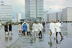 Alexanderplatz, Berlin, early 1970's