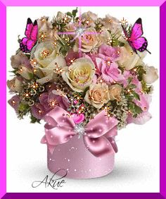 Birthday flowers bouquet beautiful roses mothers New Ideas Birthday Wishes Cake, Birthday Messages, Happy Birthday Images, Happy Birthday Greetings, Happy Birthday Flowers Gif, Flower Images, Beautiful Roses, Beautiful Things, Happy Mothers Day