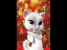 El gato felicita la Navidad - YouTube