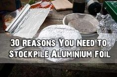 30 Reasons You Need To Stockpile Aluminium Foil - SHTF Preparedness