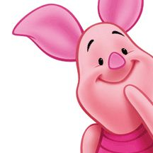 Piglet is a character from A. Milne's Winnie-the-Pooh books and is featured in many Disney productions. He is a baby pig who is the best friend of Winnie-the-Pooh. Piglet and I share the same. Eeyore, Tigger, Piglet Quotes, Ior, Nasu, Baby Pigs, Favorite Cartoon Character, Piglets, Pooh Bear