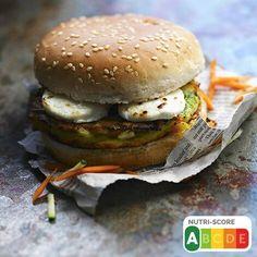 Hamburger Vegetarien, Salmon Burgers, Chicken, Ethnic Recipes, Hamburgers, Bagels, Food, Products, Baked Potatoes
