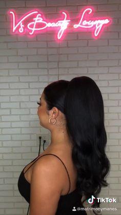 #ponytail #sleekhair #hairstylesforwomen #hairstyles #bridalhair #weddinghairstyles #hairtransformation #hairstyleideas #bridalhairstyles #longhair #longhairstyles Wedding Ponytail Hairstyles, Bun Hairstyles For Long Hair, Sleek Hairstyles, Bride Hairstyles, Volume Hairstyles, Sleek Ponytail, Hair Transformation, Hair Videos, Hair Hacks