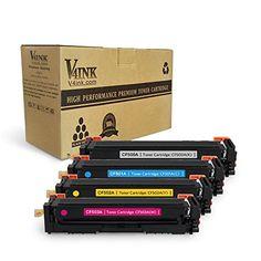 V4INK New Compatible HP 202A CF500A CF501A CF502A CF503A Toner Cartridge for HP Color LaserJet Pro MFP M281dw M281cdw M281fdw, MFP M280, M254dw, 4 Pack #VINK #Compatible #Toner #Cartridge #Color #LaserJet #Mcdw #Mfdw, #Mdw, #Pack