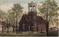 St. Johns Church in Otter Lake, Michigan