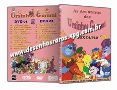 Desenho OS URSINHOS GUMMI DUBLADO EM PORTUGUÊS. Garantia 100% de ENTREGA em MÃOS.  Dúvidas e Informações aqui: desenhosraros2005-livre@yahoo.com.br