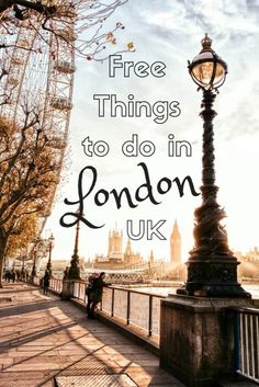 Free things to do in london england
