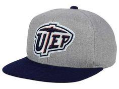 UTEP Miners adidas NCAA Stacked Box Snapback Cap 6a762264906