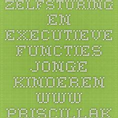 zelfsturing en executieve functies jonge kinderen www.priscillakeeman.nl
