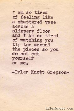 Typewriter Series #39 by Tyler Knott Gregson