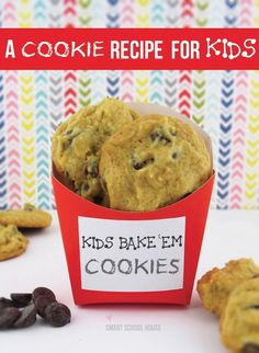 An egg free cookie recipe for kids!