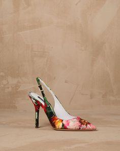 Dolce Gabbana womens shoes · BROCADE BELLUCCI SLINGBACKS Scarpe Carine a21de704d98