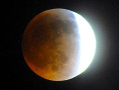 April 2014, lunar eclipse from Lakewood CA...photo by Mark W. Patterson