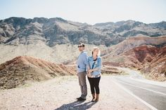 Desert engagement photos. Vegas wedding ideas. Las Vegas elopement. West Coast wedding photography.  Desert photos. Valley of Fire Las Vegas. Fun unique engagement photos. Blue eyes.
