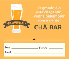 Convite Chá Bar – 10 Modelos Editáveis e para se Inspirar! Open House, Tea, Minions, Google, Blog, Printable Party, Diaper Invitations, Paper Flowers, Tags