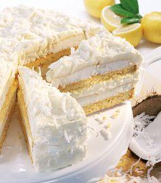 Das Rezept für die Schnee-Torte finden Sie auf www.wohnen-und-garten.de