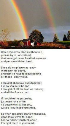 Dogs Love Poem Rainbow Bridge 61 Ideas For 2020 All Dogs, I Love Dogs, Puppy Love, Dog Quotes, Animal Quotes, Dog Sayings, Friend Quotes, Pet Poems, Pet Loss Grief