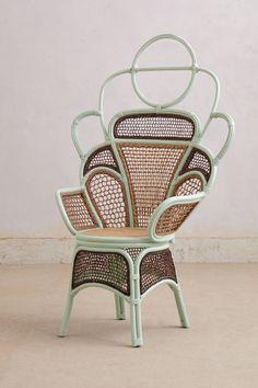 Handwoven Odette Chair #Anthropologie #AnthroFave