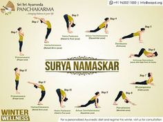Surya namaskar is powerful yoga for weight loss tool.