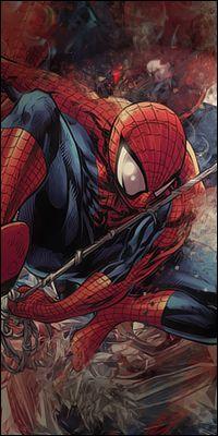 Spiderman Vertical Signature by exposureART on DeviantArt