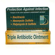 Dr. Sheffield Triple Antibiotic Ointment by Great Lakes Wholesale. $3.78. Dr. Sheffield Triple Antibiotic Ointment