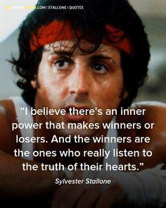 sylvester stallone, quotes, sayings, inner power, winner