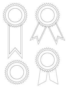 Award ribbons 123certificates print print print pinterest blank award ribbon templates for the classroom maxwellsz