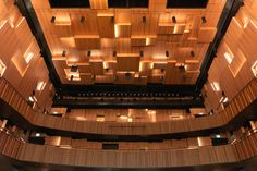 Malmö Live – Concert Hall by Gustafs #architonic #nowonarchitonic #interior #design #furniture #panel #sound #acoustic #hall #wall #ceiling