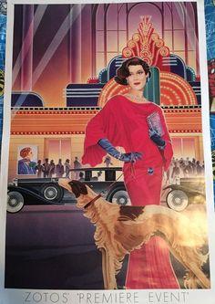 1989 ZOTOS Premier Event,Theater Plays Antique Cars Roaring 20s
